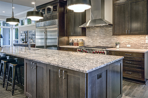 gray-quartz-countertops-plymouth-cabinetry-design-wisconsin